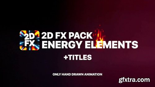 Videohive Fire Elements Titles And Transitions 22767001