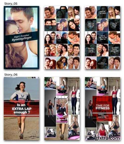 Videohive Instagram Stories with Multi Image Grid 22277425