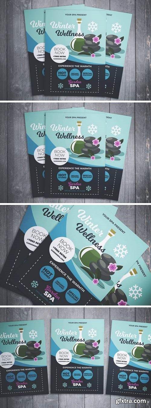 Winter Wellness Spa Flyer