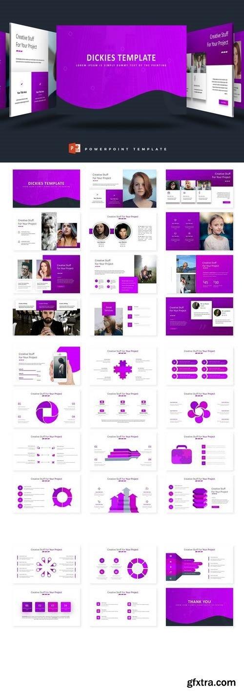 Dickies  - Powerpoint, Keynote, Google Slides Templates