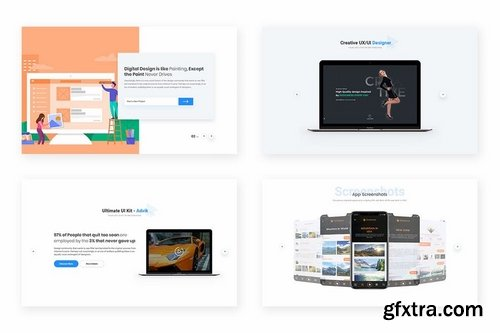 10 Sliders Widget Design for Web-UI Kit