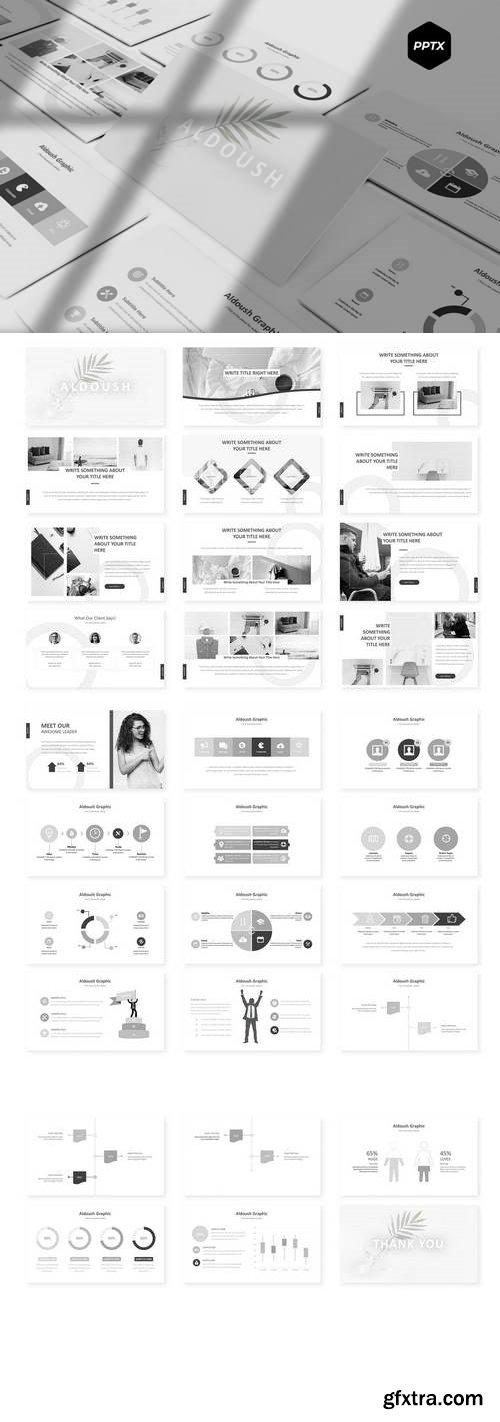 Aldoush - Powerpoint, Keynote, Google Sliders Templates