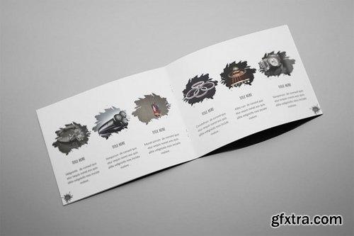 Aliva - A5 Photography Splash Brochure Template
