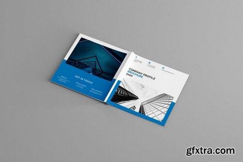 Mavka - Square Company Profile Brochure Template