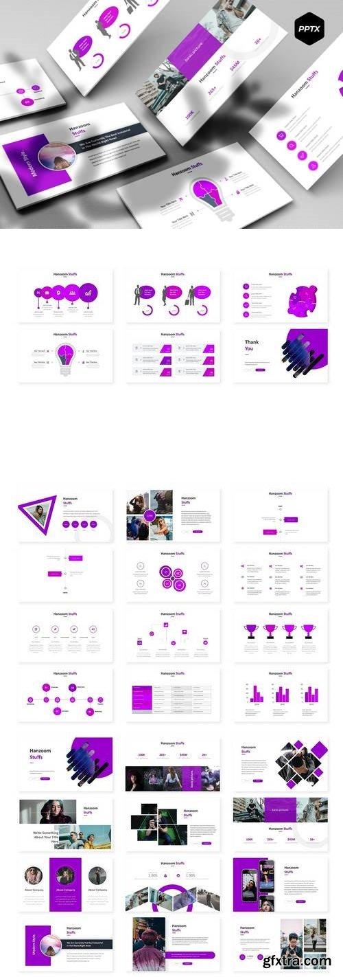 Hanzoom - Powerpoint, Keynote, Google Sliders Templates