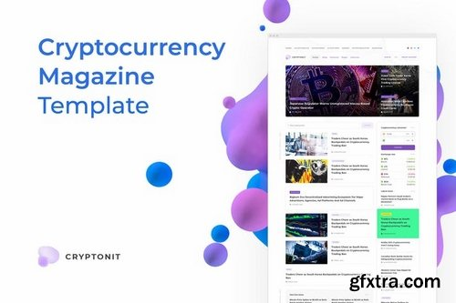 Cryptonit – Magazine Sketch Template