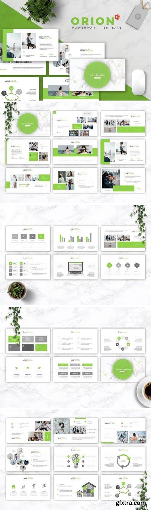 Orion - Powerpoint, Keynote, Google Sliders Templates