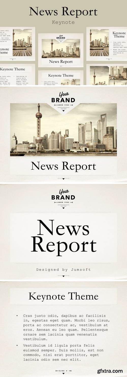News Report Keynote Template