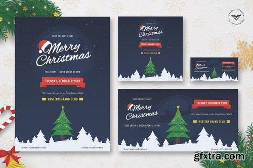 Christmas Flyer & Social Media Pack Template