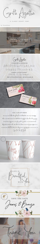 Gritte Agata Font