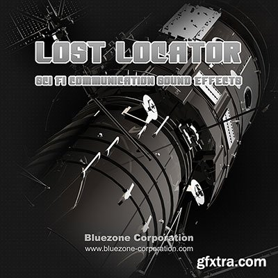 Bluezone Corporation Lost Locator Sci Fi Communication Sound Effects WAV