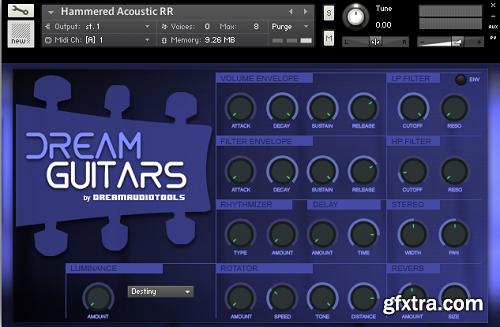 Dream Audio Tools Dream Guitars KONTAKT