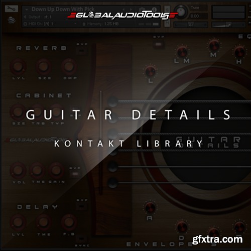 Global Audio Tools Guitar Details KONTAKT