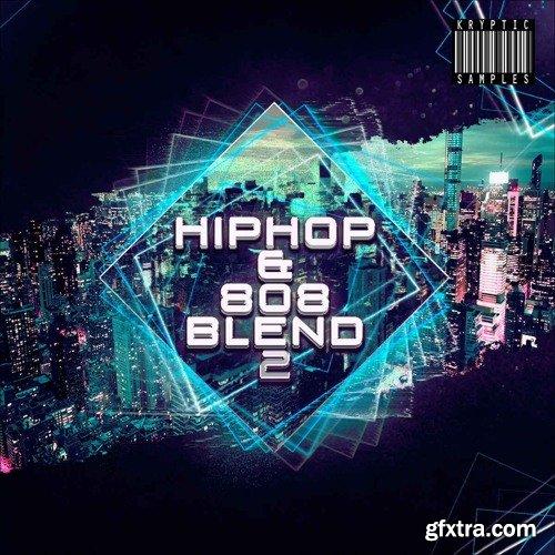 Kryptic Samples Hip Hop & 808 Blend 2 WAV MIDI