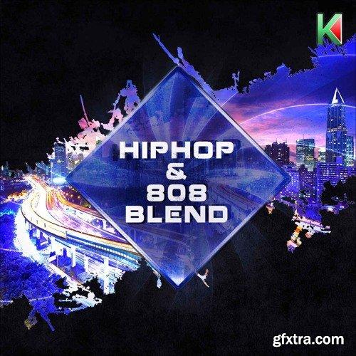 Kryptic Samples Hip Hop & 808 Blend WAV MIDI