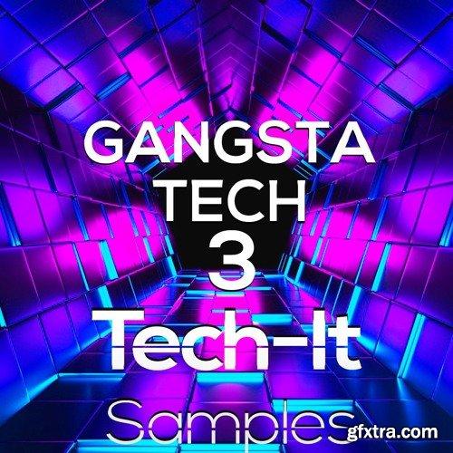 Tech-It Samples Gangsta Tech 3 WAV MiDi