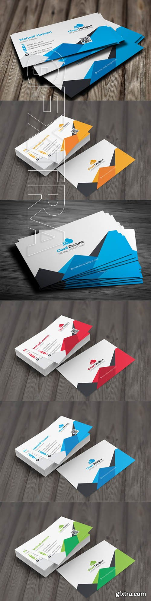Corporate Business Card v14