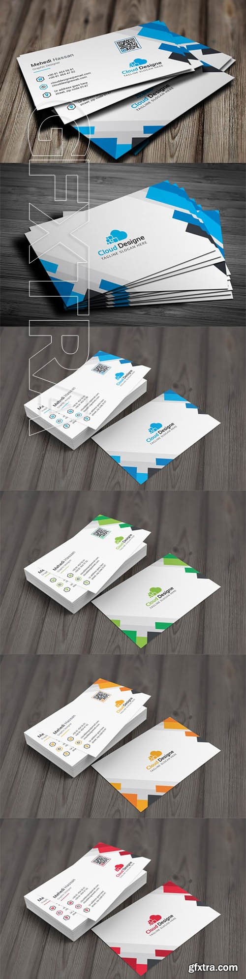 Corporate Business Card v16