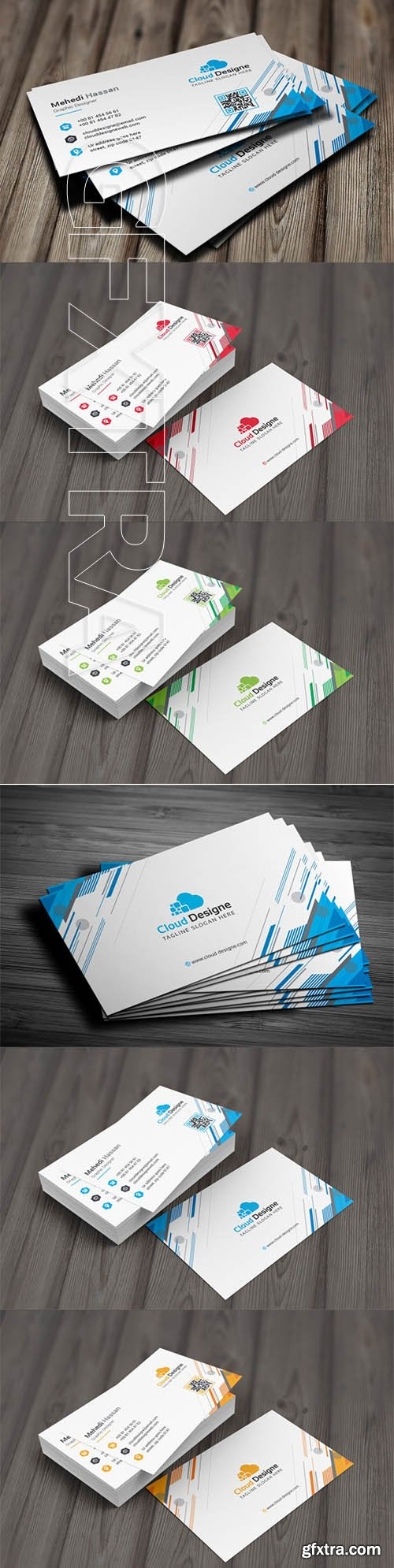 Corporate Business Card v17