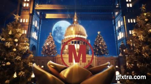 MA - Golden Christmas In Vatican After Effects Templates 149173
