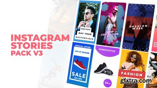 MA - Instagram Stories Pack V3 After Effects Templates 149628