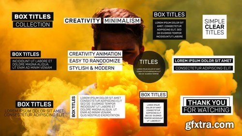 MA - Social Media Box Titles After Effects Templates 149394