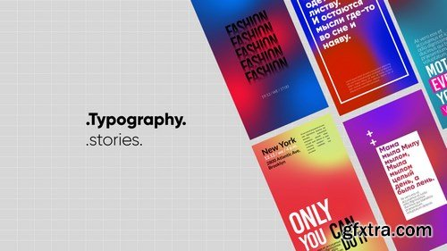 MA - Typography Stories After Effects Templates 149404
