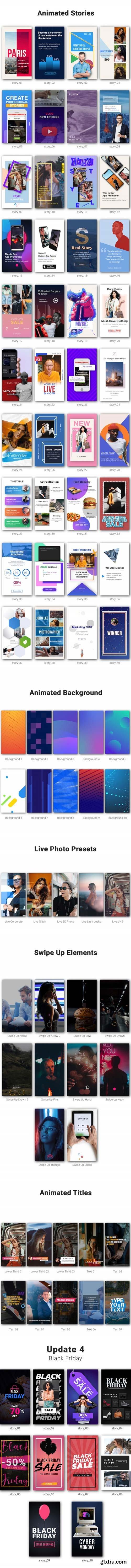 Videohive - Instagram Stories Kit // Instagram Story Pack V4 - 22195723