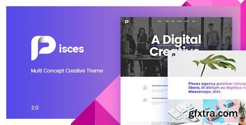 ThemeForest - Pisces v2.0.3 - Multi Concept Creative Theme - 20548644