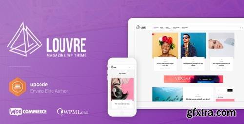 ThemeForest - Louvre v1.0.7 - Minimal Magazine and Blog WordPress Theme - 19842561