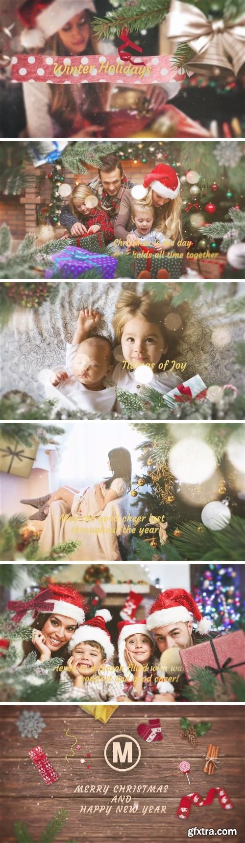 MA - ?Christmas ?Slideshow After Effects Templates 149453