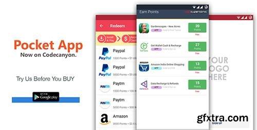 CodeCanyon - Android Rewards App - POCKET v3.0 - 17413949
