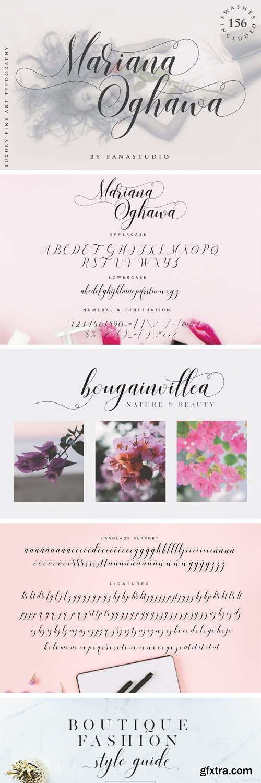 Fontbundles - Mariana Oghawa Script 161379