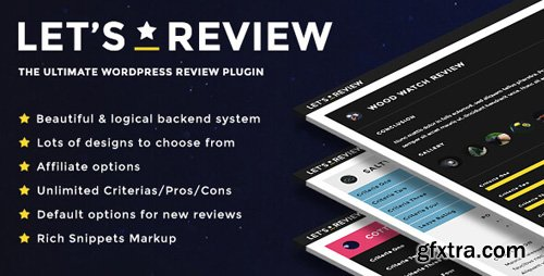 CodeCanyon - Let's Review v2.5.1 - WordPress Plugin With Affiliate Options - 15956777