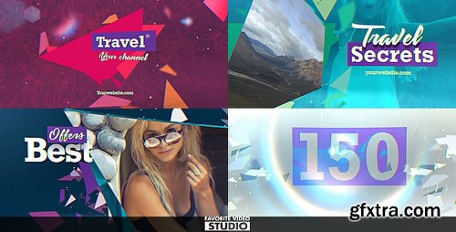 Videohive Travel Multifunction Broadcast Pack 20406345