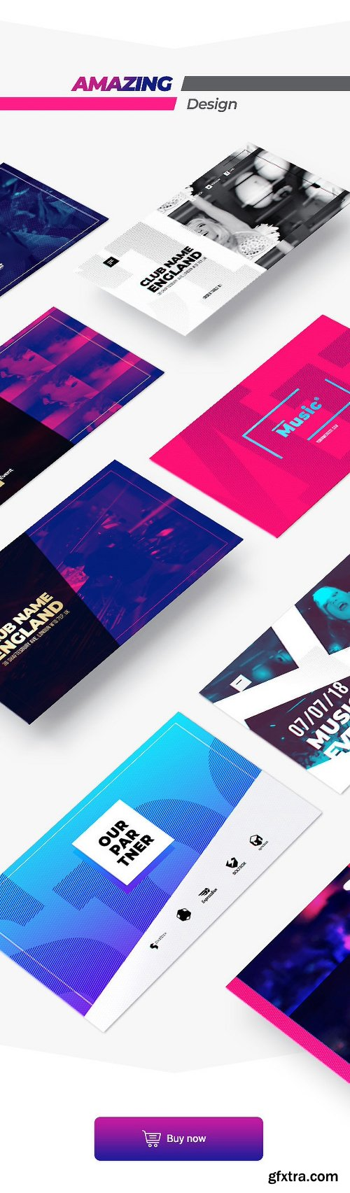 Videohive Music Action Flyer Pack 21850291