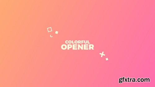 Videohive Colorful Opener 22120833