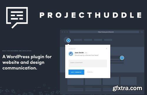 ProjectHuddle v3.0.22 - WordPress Plugin For Website Design Communication
