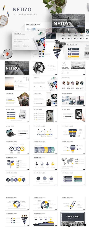 Netizo - Powerpoint, Keynote and Google Sliders Template