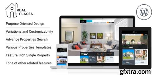 ThemeForest - Real Places v1.7.4 - Responsive WordPress Real Estate Theme - 12579089