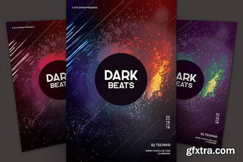 CM - Dark Beats Flyer 2984846