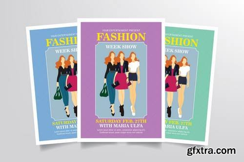 Fashion Week Flyer Template Vol. 2