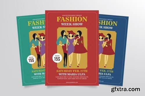 Fashion Week Show Flyer Template Vol. 1