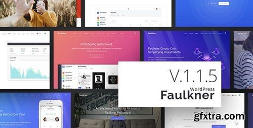 ThemeForest - Faulkner v1.1.5 - Responsive Multiuse WordPress Theme - 22686458