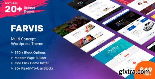 ThemeForest - Farvis v1.2.5 - Multipurpose WordPress Theme - 20896134