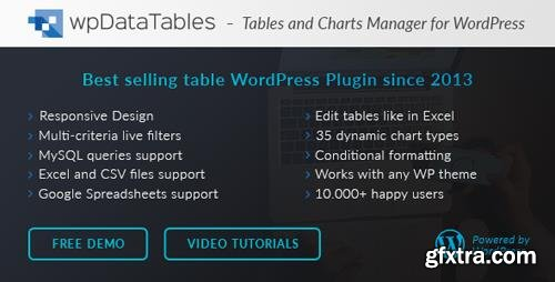CodeCanyon - wpDataTables v2.4 - Tables and Charts Manager for WordPress - 3958969