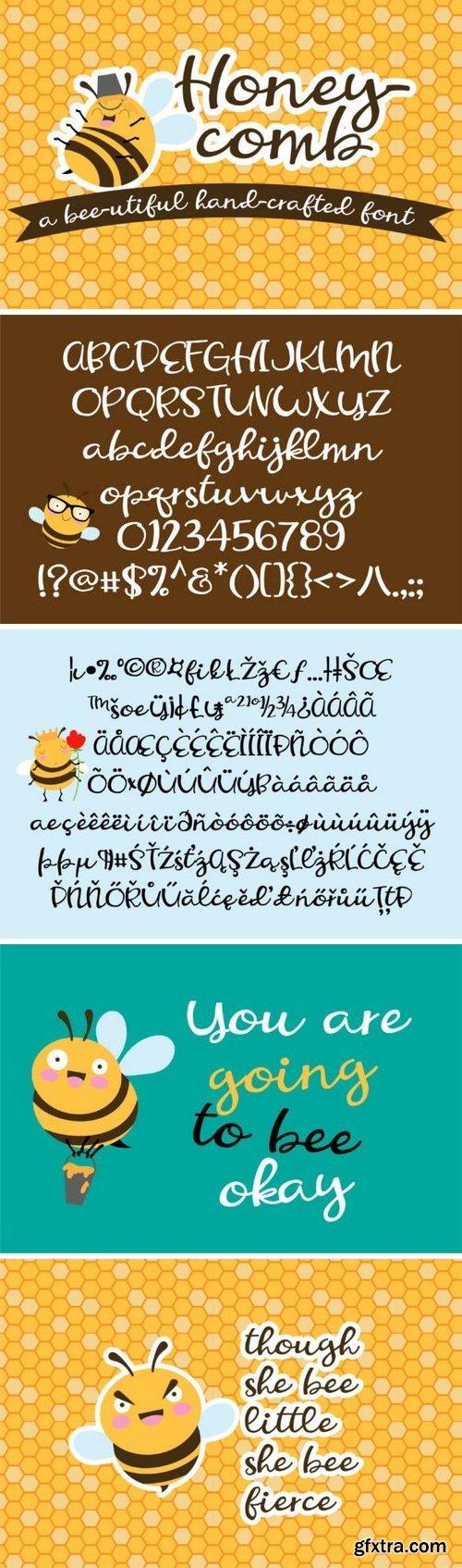Fontbundles - PN Honeycomb 179488