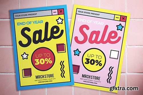 End Of Year Sale Flyer