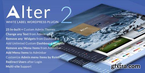 CodeCanyon - White Label Wordpress Plugin - WpAlter v2.3.5 - 17567303 - NULLED