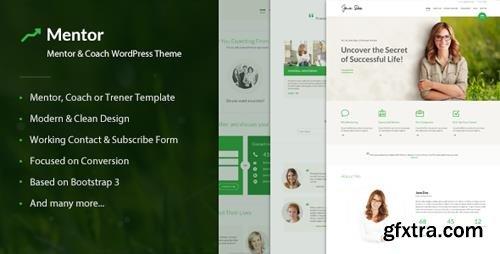 ThemeForest - Mentor v2.1.9.4 - Personal Development Coach WordPress Theme - 15019904